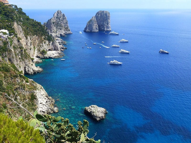 Cidades turísticas do sul da Itália