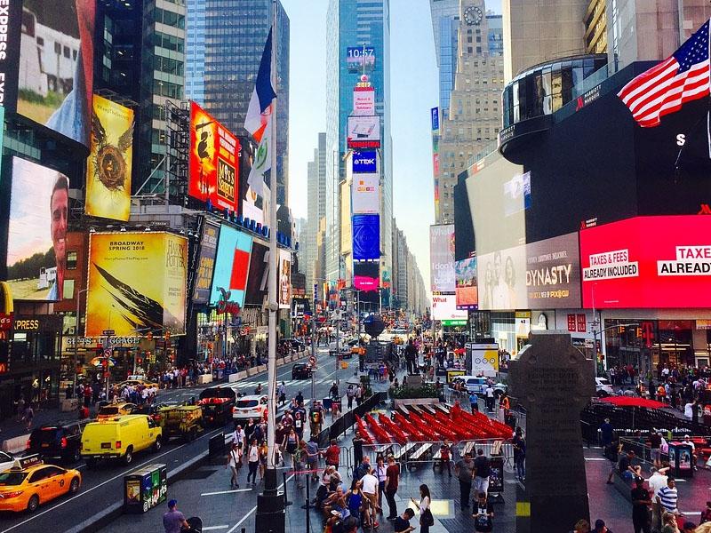 Comida de rua em Manhattan