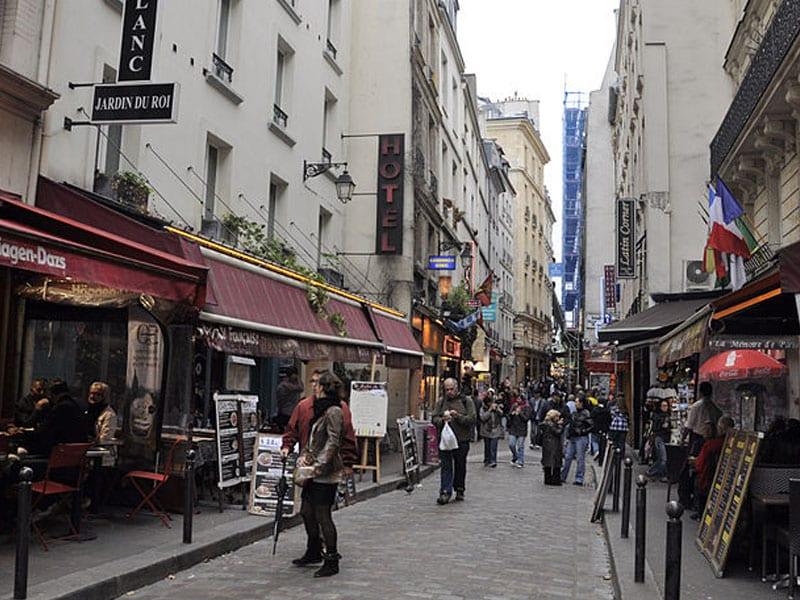 Ruas famosas em Paris
