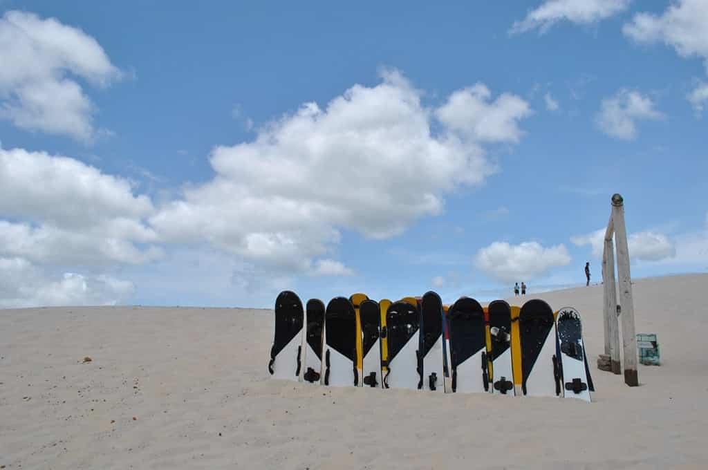 sandboard em Santa Catarina