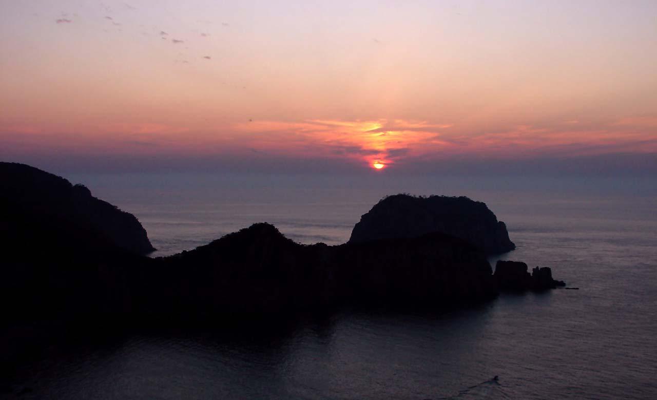 Sunset ao redor do mundo