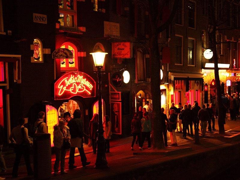Baladas em festas em Amsterdã