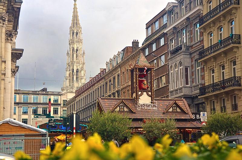 Passeios na Bélgica no inverno