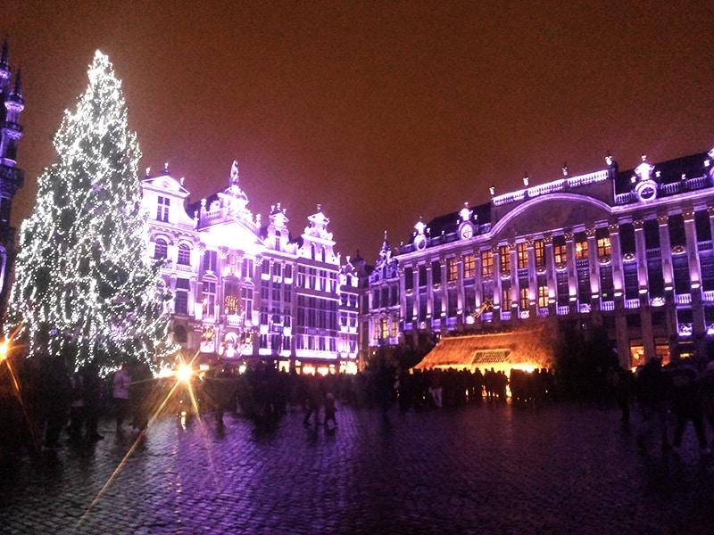 Bruxelas no natal