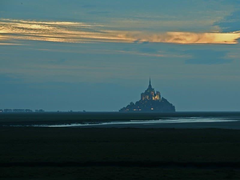 Como chegar no Mont Saint-Michel