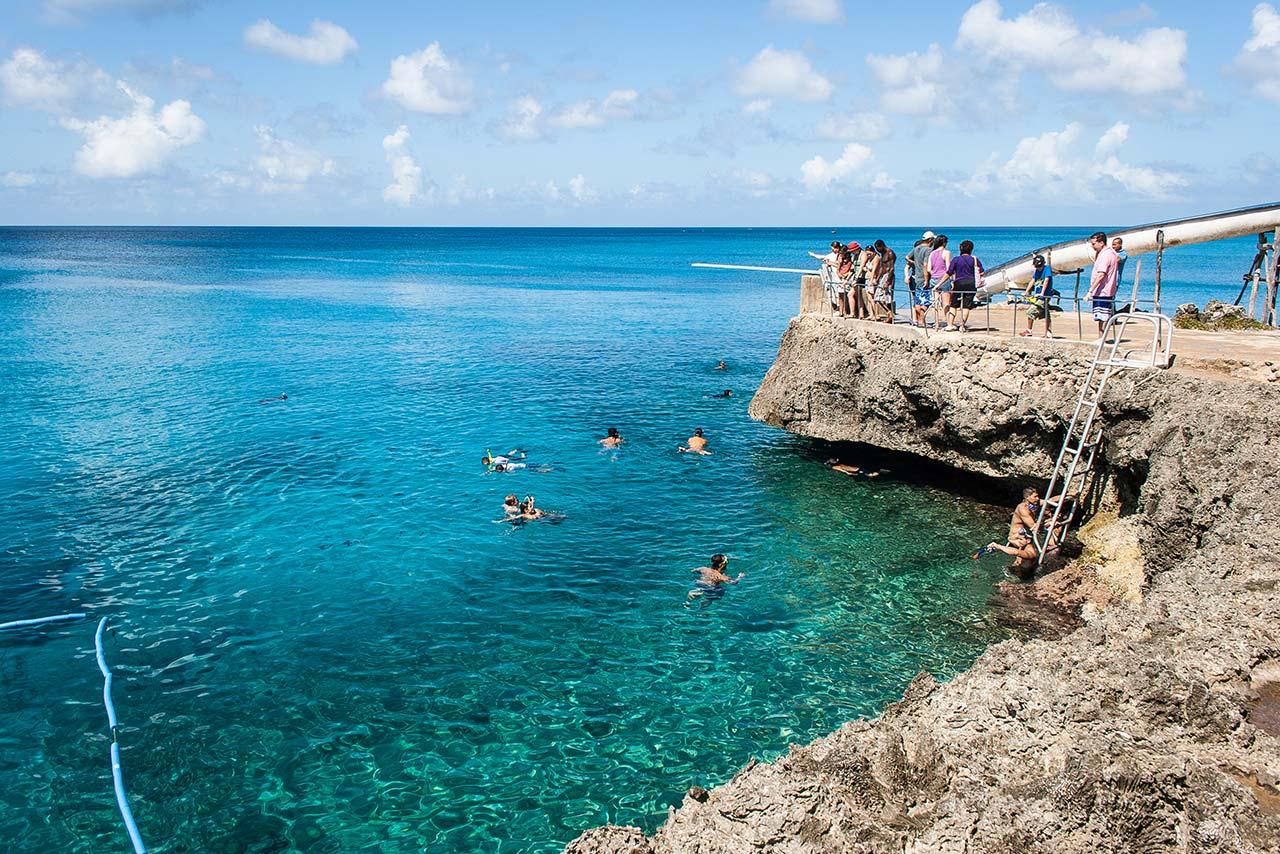 Praia para mergulho em San Andrés