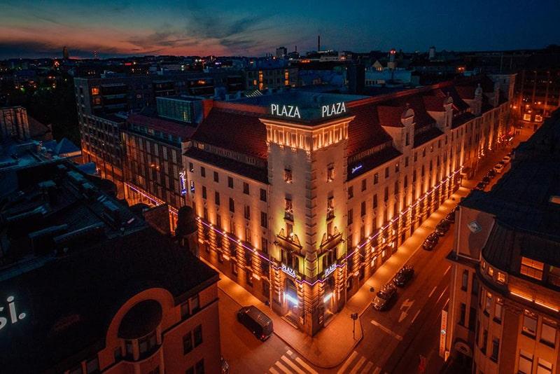 Hotel de luxo em Helsinque