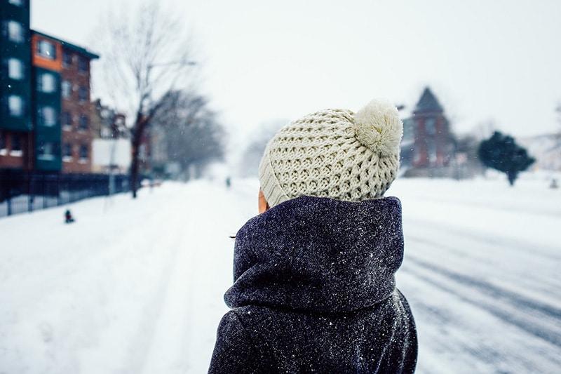 frio no Quebec, no Canadá