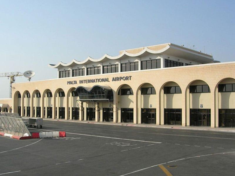 Aeroporto de Luqa malta