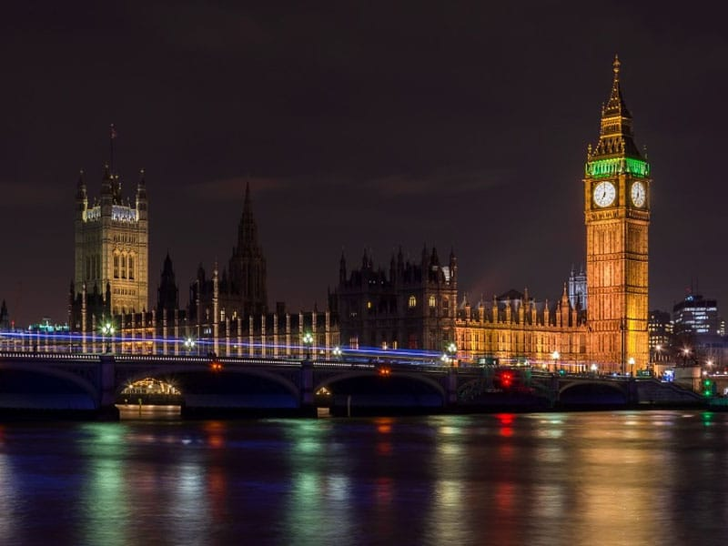 Vida noturna na Inglaterra