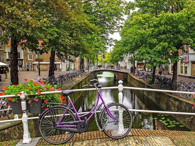 Como se locomover na Holanda