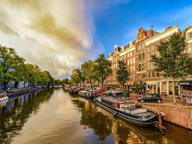 Pontos turísticos em Amsterdã