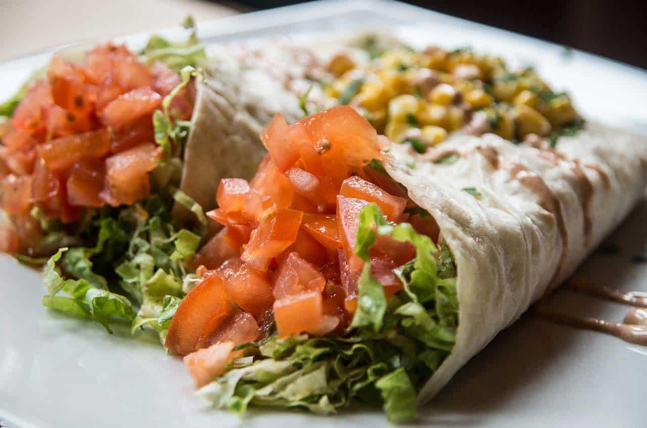 Pratos mexicanos nos restaurantes em São Francisco