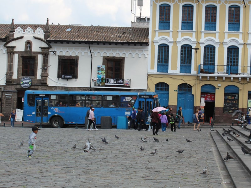 Como se locomover em Quito