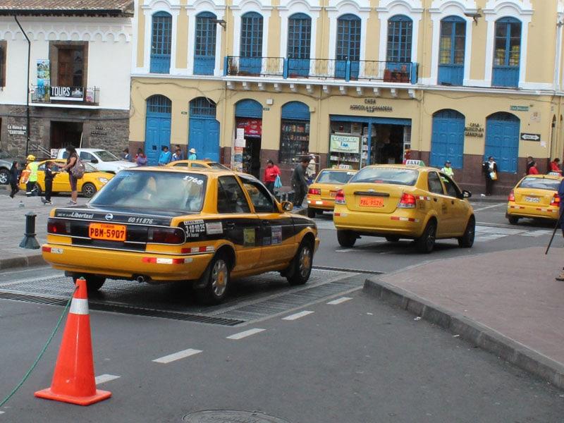 Uber no Equador
