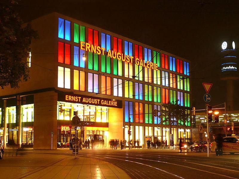 Galeria para fazer compras em Hannover