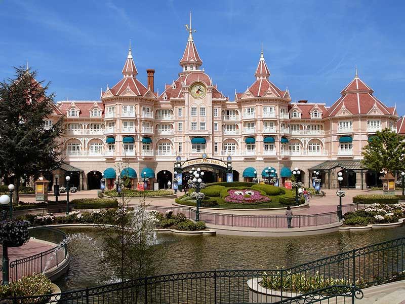 Disney Paris no inverno