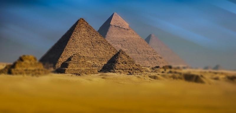 Destinos arte Egito