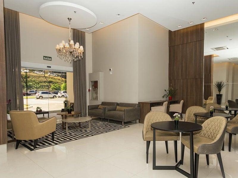 Hotéis perto do aeroporto em Cuiabá