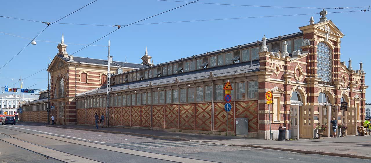 Mercados em Helsinque