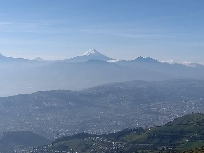 Vulcão em Quito
