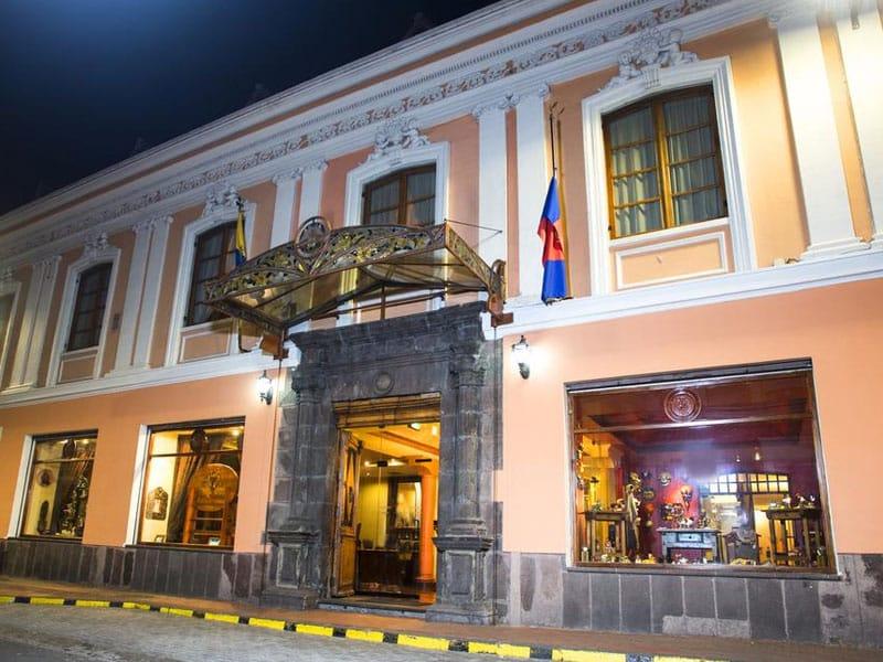 Hotéis no Centro Histórico de Quito