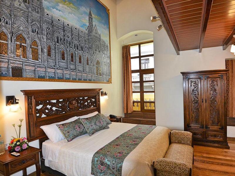 Sugestões de hotéis no Equador