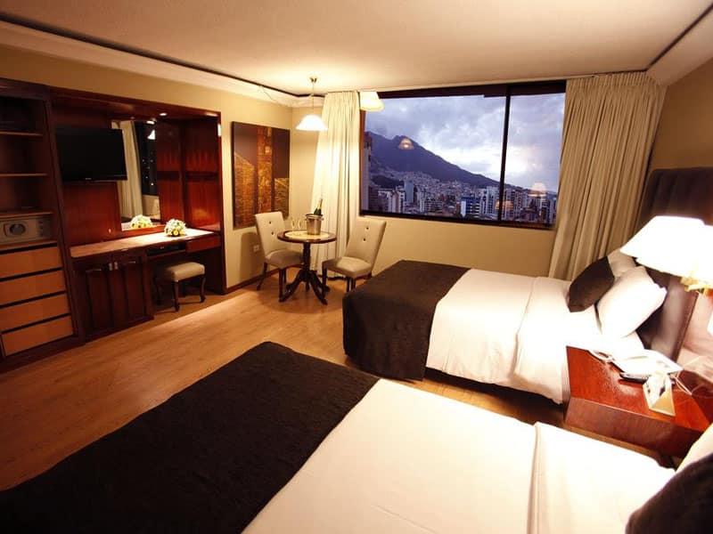 Hotéis bem localizados em Quito
