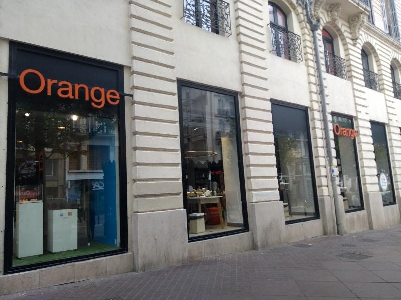 Orange na França