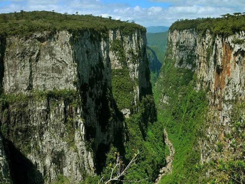 Ponto turísticos em Aparados da Serra