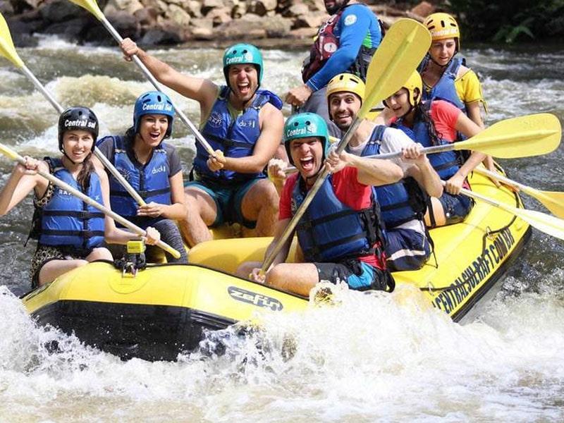 Rafting no Rio Grande do Sul