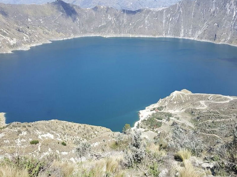 Visita aos vulcões do Equador