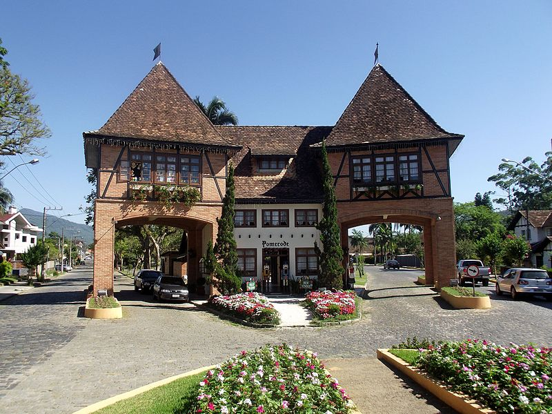 Cidades turísticas de Santa Catarina