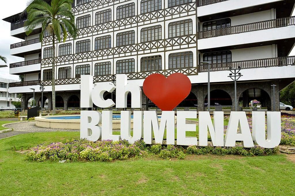 Como ir para Blumenau