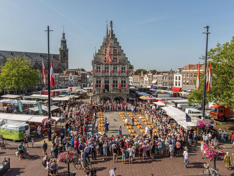 Onde comer queijo na Holanda