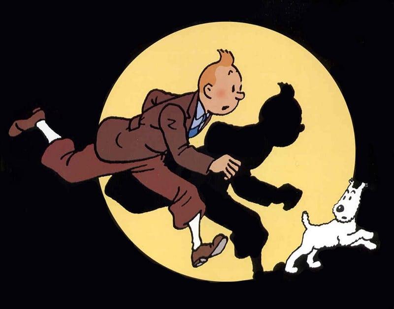História em quadrinhos Tintin