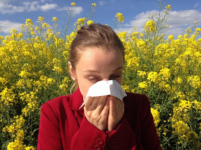 Crise alérgica