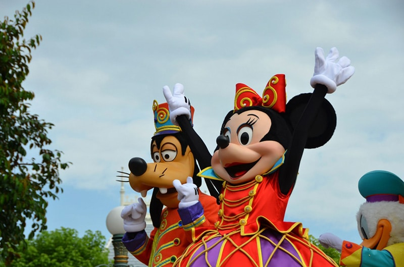 Desfile Disneyland