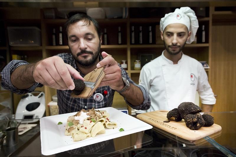 Melhor prato italiano em Roma