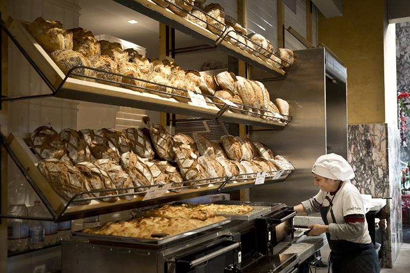 Melhor pão em Roma