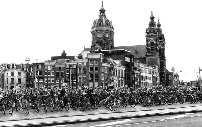 Bicicletas em Amsterdam