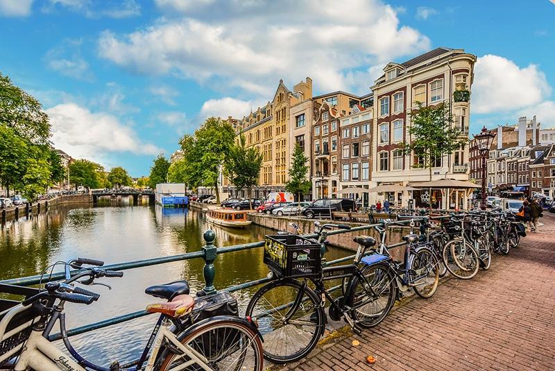 Viver em Amsterdam