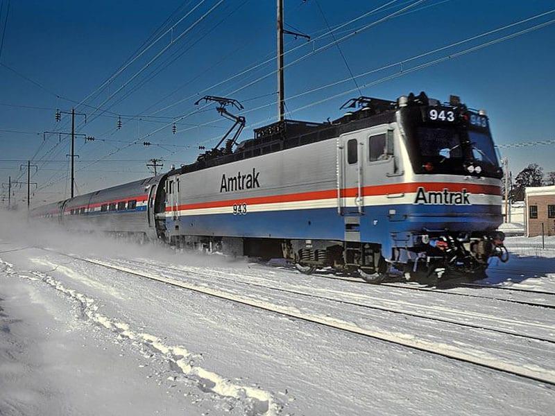 Trem do Canadá para os Estados Unidos