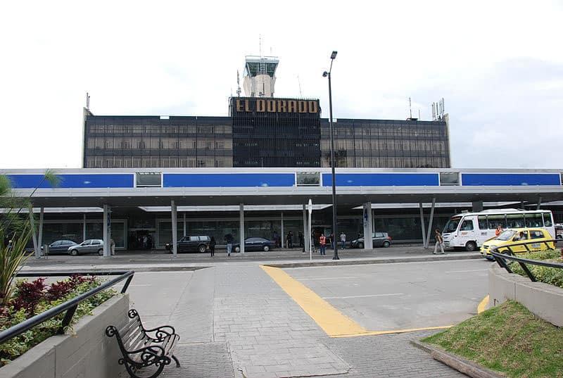 Aluguel de carro no aeroporto da Colômbia
