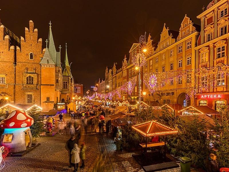 Mercado de Natal Polônia