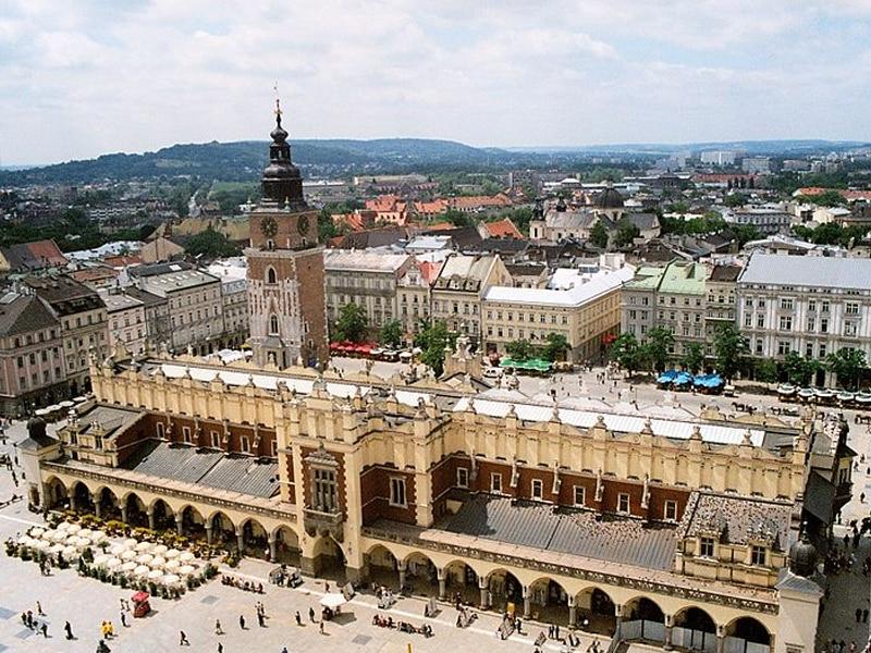 Roteiro diferente na Europa, Polônia
