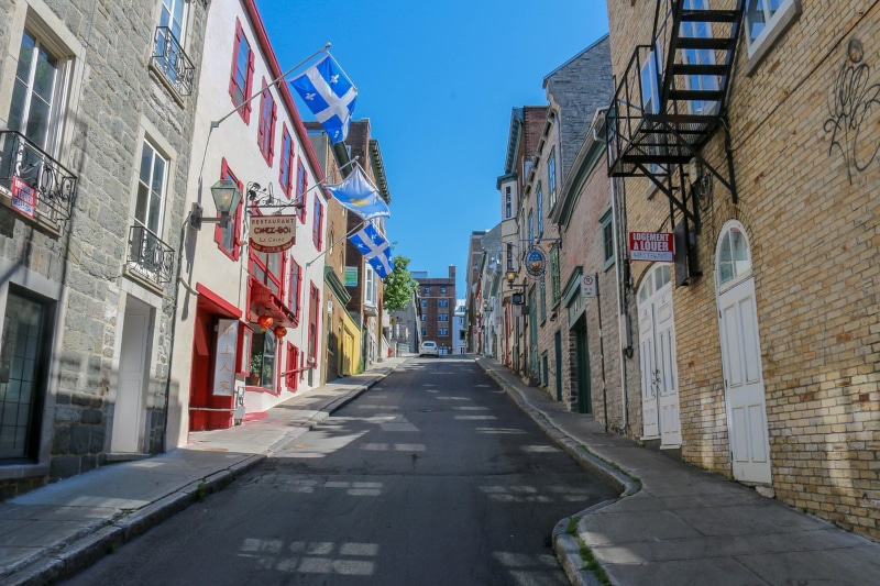 Conexão em Quebec City