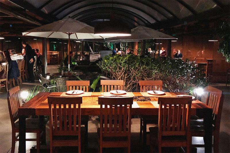 Restaurante Figueira em Blumenau