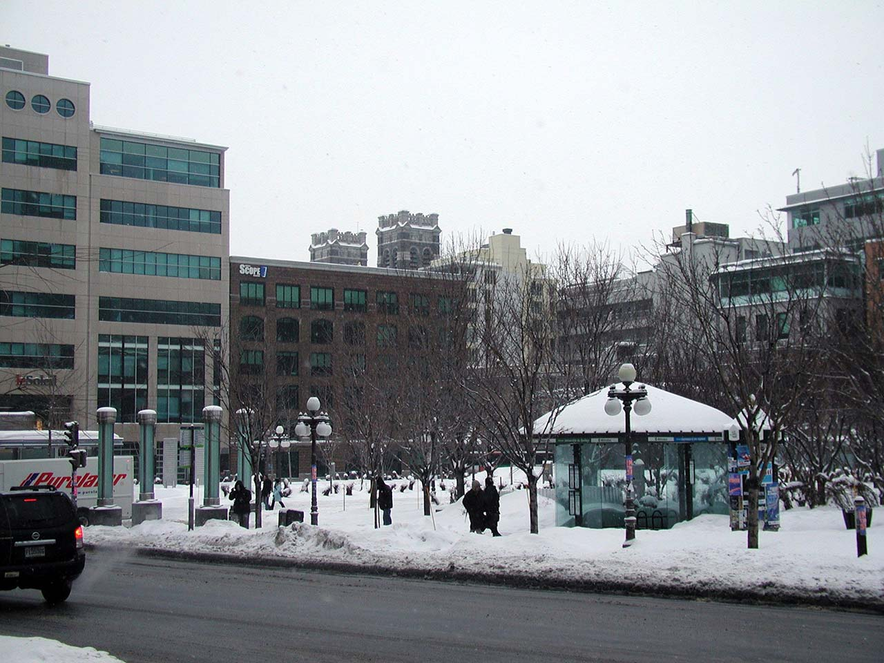 Lugares para se hospedar em Quebec City