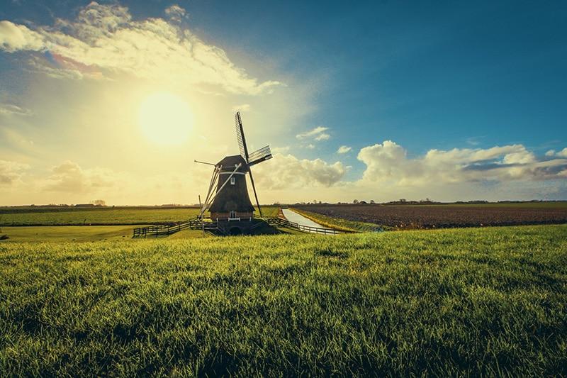 Moinho na Holanda